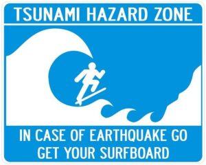 Tsunami-Surfing