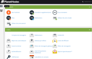CPanel PlanetHoster 2