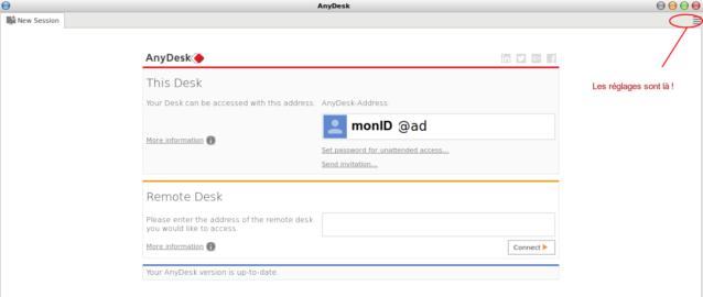Bureau distance anydesk plut t que teamviewer l 39 almanet dolys de nam1962 et ses amis - Debian bureau a distance ...